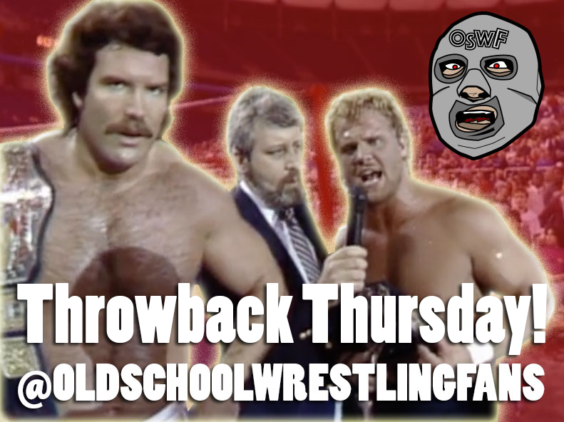 Old School Wrestling Fans Throwback Thursday